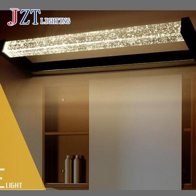T LED Crystal waterproof Simple Bathroom Mirror Light Modern ...
