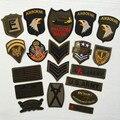 Super Qualidade 9 pcs Mix Militar Conjunto de Patches Bordados para Vestuário Sew Motif Ferro em Roupas Apliques de Patch Emblema Do Exército