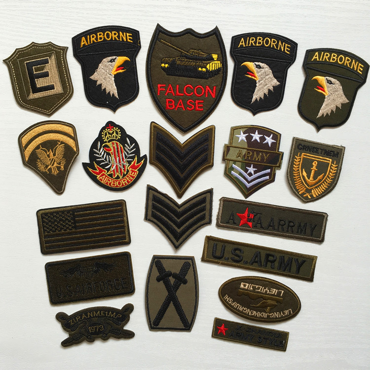 Aliexpress buy super quality pcs mix military motif