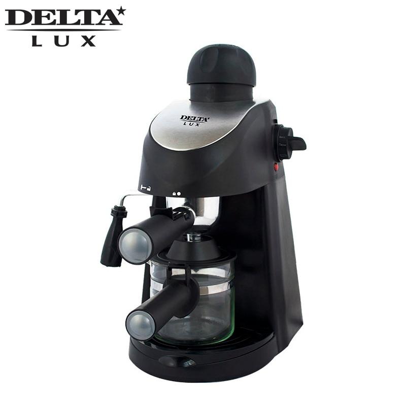 DL-8150K macchina macchina per il caffè a goccia nero, caffè famiglia americana in materiale plastico, completamente automatico, indicatore di lavoro DELTA