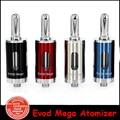 original  Kanger Evod Mega Atomizer Kangertech Evod Mega E-cigs atomizer 2.5ml tank fit for Evod mega kit vs emow mega tank YY