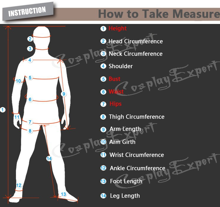 how to take measure