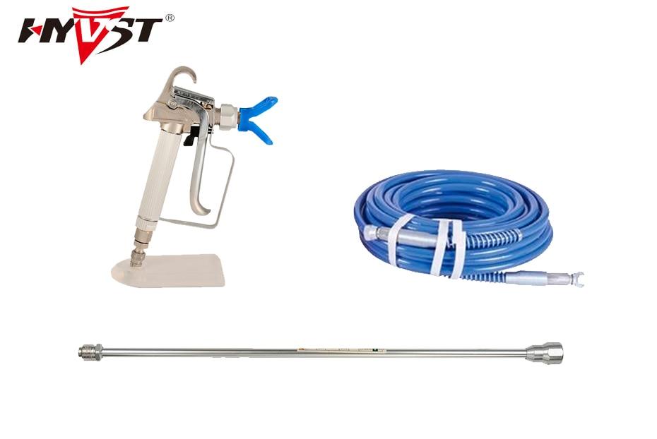 Professional airless sprayer spare parts 15m high pressure hose 20cm extend pole sprayer gun with 517 tip
