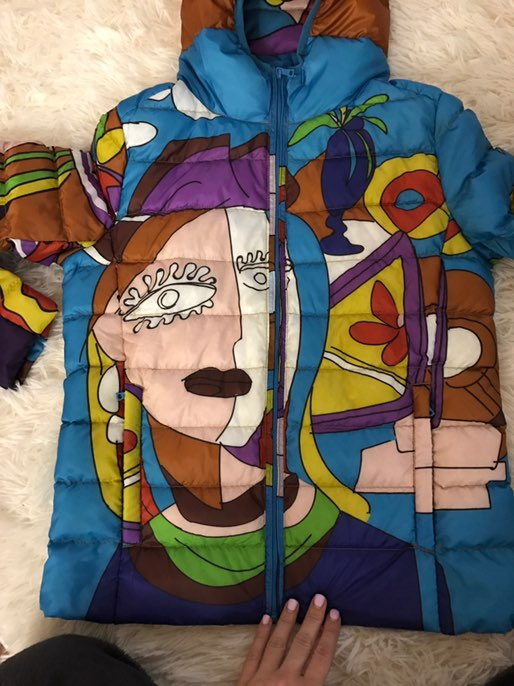 Тонкая куртка                                                                    Заказывала 11