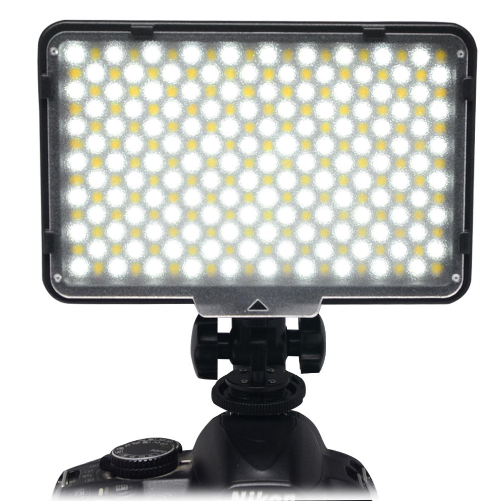 Mcoplus 260 Bi-Color LED Video Light Lamp Temperature Adjustment for DV Camcorder & Canon Nikon Sony Pentax Digital SLR Camera mcoplus 260 bi color led video light lamp temperature adjustment for dv camcorder