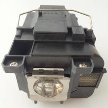 SHENG модуль лампы проектора V13H010L75/ELPLP75 для EPSON проектор лампада ELPLP-75