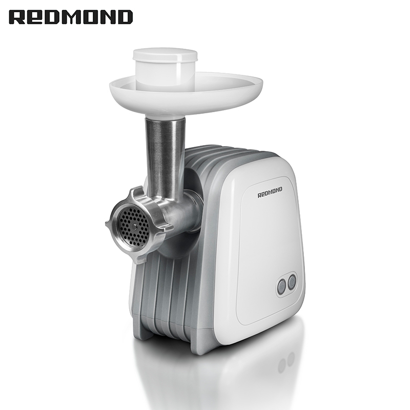 Meat grinder REDMOND RMG-1232 Electric set auger sausage stuffing zipper bread maker redmond rbm m1911 free shipping bakery machine full automatic multi function zipper