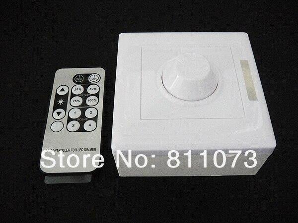 8A Беспроводной регулятор яркости светодиодного освещения переключатель для света AC 90 V-240 V