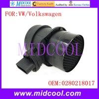 Novo uso Do Sensor de Fluxo De Massa de Ar OE No. 0280218017 para Volkswagen VW|oes| |  -