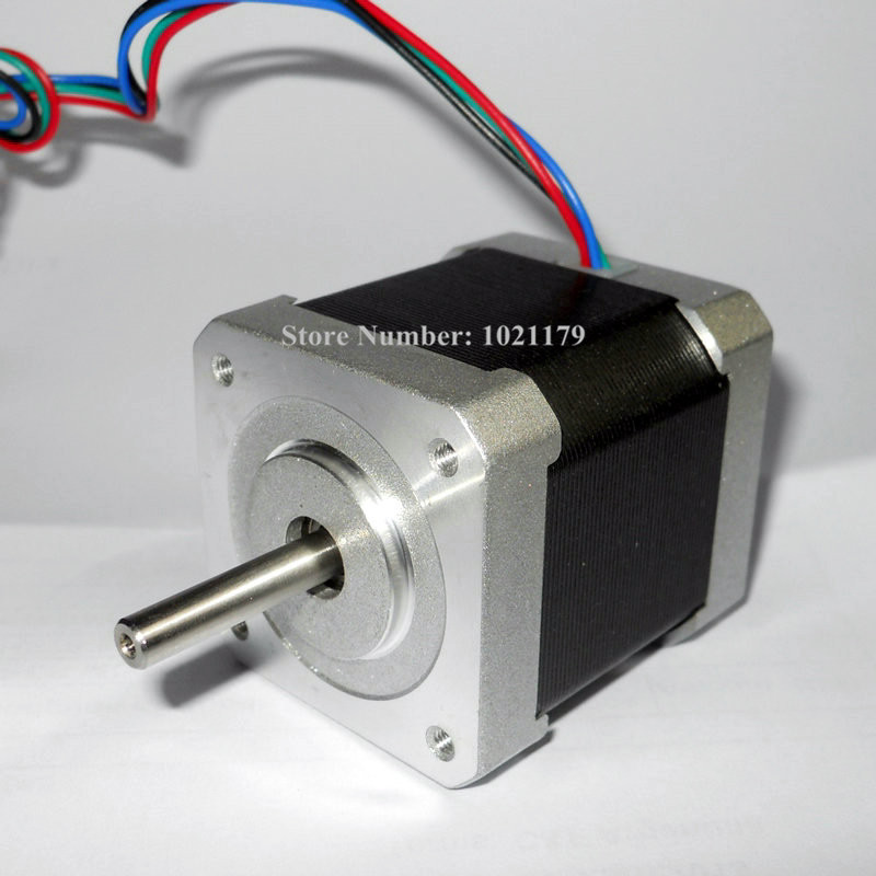 NEMA 17 stepper motor 40mm 1.2A 2.6Kg.cm 6-lead Nema17 motor 42 motor for 3D printer and CNC X, Y, Z axis 2015 new arriva qidi technology x y axis motor for 3d printer cheap price