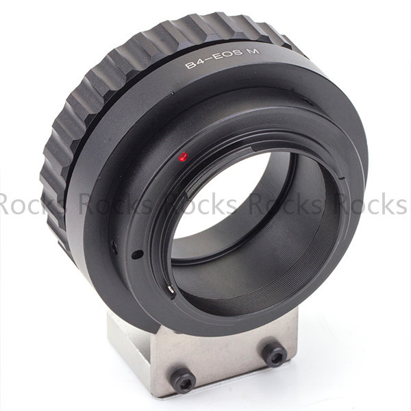 """Newest Tripod adapter suit for B4 2/3"""" CANON FUJINON broadcast lens to canon EOS M"""