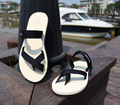 Male couple sandals sandals Ms. sandals thick crust magic stick slippers tide