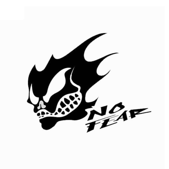 20cm15cm cool ghost rider skull sticker no tears fun body stickers car styling ct2555