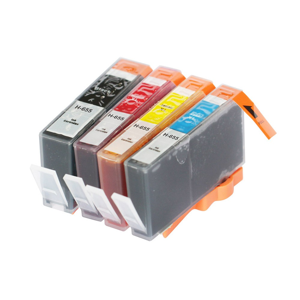 Third Party Brand refilled ink replacement for <font><b>HP</b></font> Advantage <font><b>655</b></font> for HP655 3525 4615 4625 5525 6520 6525 Printer image
