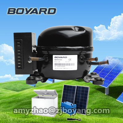 solar powered small portable fridge for drink cooling with BOYARD dc fridge compressor made in china boyard 12 24v compressor of portable air conditioner for cars portable freezer portable drink cooler