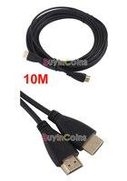 высокая скорость 10 м 30 футов HDMI версии v1.4 кабель м/м полный HD 1080p и 3D шнур для HDTV для PS3 в #24316