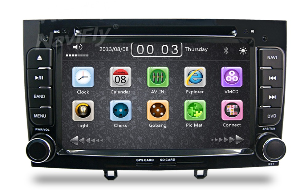 buy special car gps navigation for peugeot 308 408 hd touch screen steering. Black Bedroom Furniture Sets. Home Design Ideas