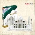 Cubicfun 3D Головоломки Тадж-Махал Модель, DIY Сборки Головоломки 3D Модель Индии Строительства Бумажные Игрушки, игрушки Для Детей
