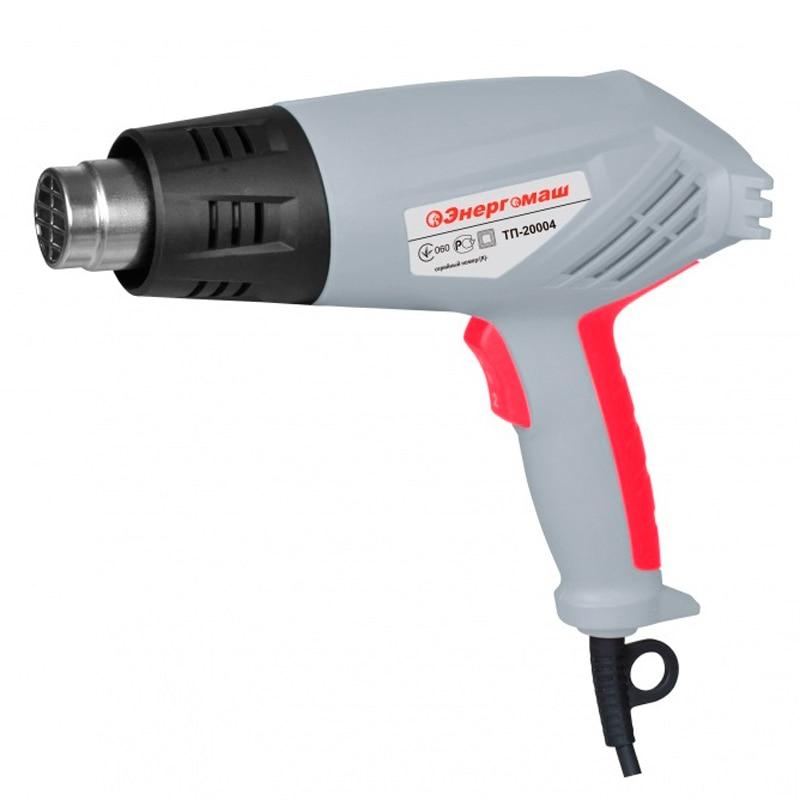 Heat gun Energomash TP-20004 electric heat gun diold tp 3 01e