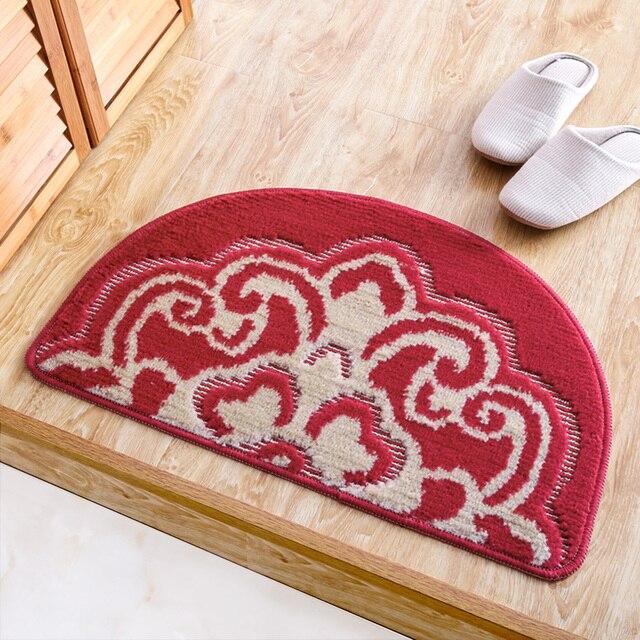 Nieuwe Halve Cirkel Vloermat deurmat Thuis decoratieve tapijt ...