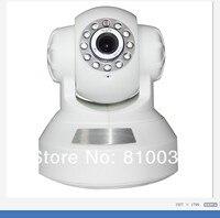 продвижение инфракрасный из светодиодов ночного видения видеонаблюдения беспроводной Wi-Fi интернет камера наклона ИС 640 * 480 2-полосный аудио купол фотоаппарат беспроводной