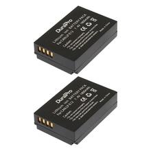 2pcs LP-E12 LP E12 LPE12 digital Camera Rechargeable Battery For Canon EOS M M2 100D Kiss X7 Rebel SL1 EOSM EOSM2 EOS100D