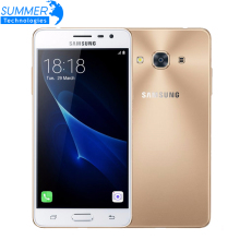 "Abierto original samsung galaxy j3 pro j3110 snapdragon teléfono móvil 410 Quad Core 4G LTE Dual SIM 5.0 ""8MP NFC Smartphone"