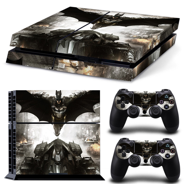 Batman arkham knight skins for playstation4 for ps4 decal covers high quality