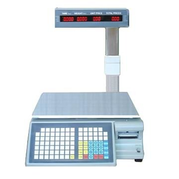 electric scale with label printer