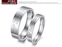 новое поступление нержавеющая сталь настоящая любовь пара кольца бесплатная доставка ty299
