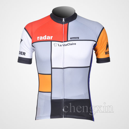 b95105643 Free Shipping 2012 New la vie claire Bicycle Bike Team Shorts Sleeve Cycling  Wear Jersey S