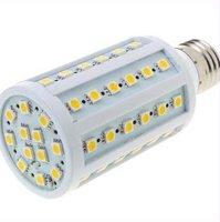 Лампа E27 12 вт привело кукурузы теплый белый 60 смд 5050 220 в