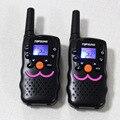 1 W Portátil de Radio Walkie Talkie VT8 PMR FRS Radios de Dos Vías transmisor PTT CB Canal Dual Standby Radio Comunicador