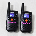 1 W Rádio Portátil Walkie Talkie PMR FRS Rádios Em Dois Sentidos transmissor VT8 PTT CB Dual Channel Standby Rádio Comunicador