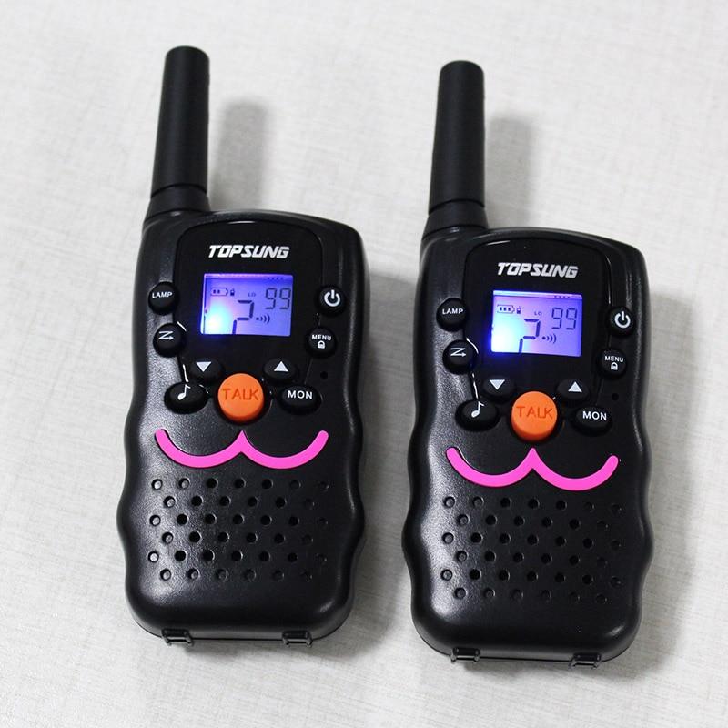 1W դյուրակիր ռադիոալիքի Walkie Talkie VT8 PMR FRS երկկողմանի ճառագայթային հաղորդիչ PTT CB երկակի ալիքի սպասման ռադիոկապի