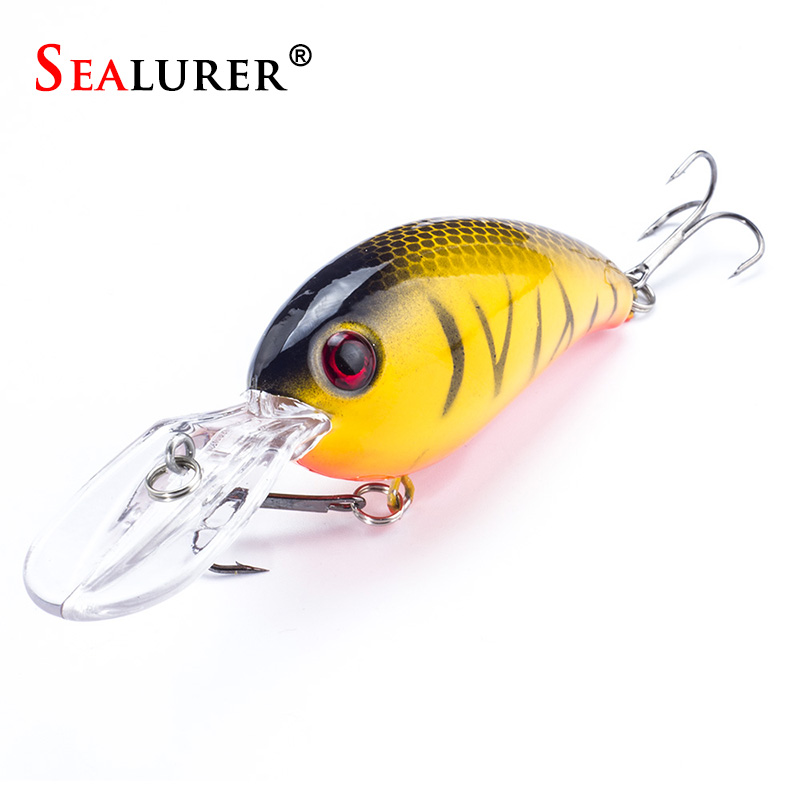 Brand sea trolling minnow artificial bait 10cm/14g  Big Wobblers Fishing lures  carp peche crankbait pesca jerkbait sealurer brand big wobbler fishing lures sea trolling minnow artificial bait carp peche crankbait pesca jerkbait