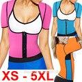 2016 новый XS-6XL плюс размер женщины пот повышения талии корсет талии тренер сауна костюм сексуальная жилет горячая shaper тела E85B