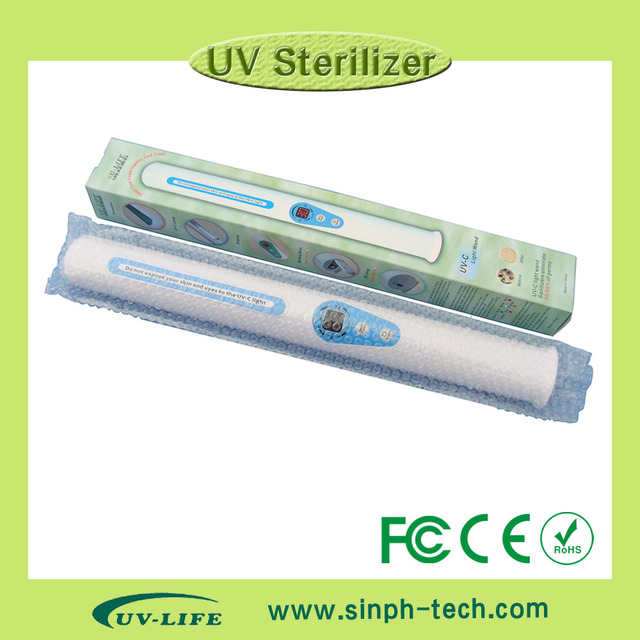 Healthcare UV sterilizer wand uv sanitization for baby products, with one free replacement UV bulb