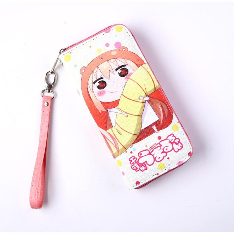 Himouto! Umaru-chan Doma Umaru Colorful Long Style PU Anime Wallet with Zipper 2016 new anime himouto umaru chan cosplay wig peruca