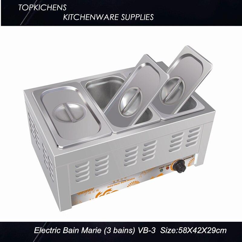 Commerical Electric Bain Marie,Food warmer BM3
