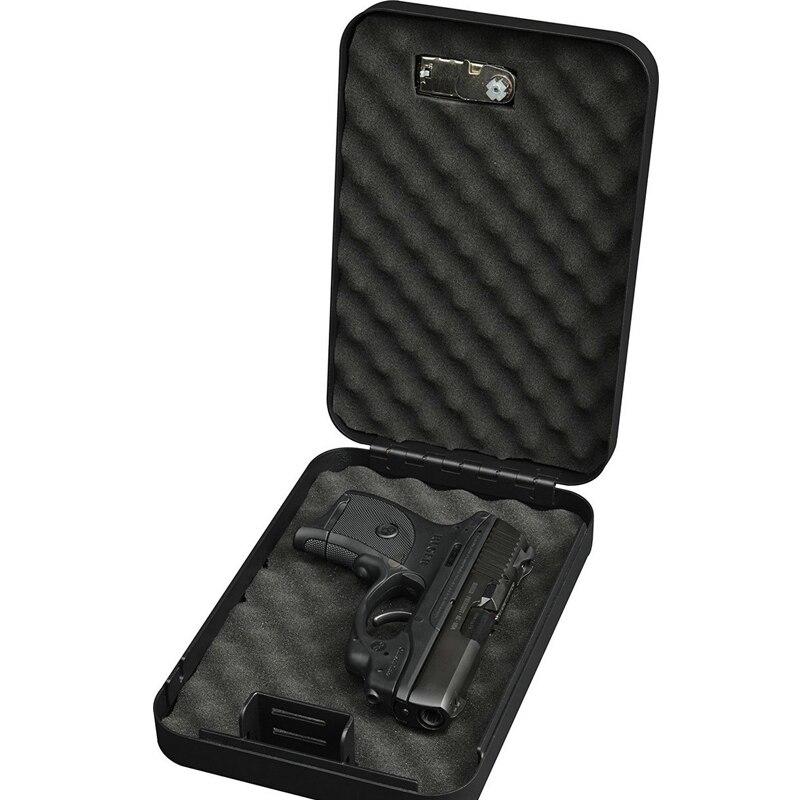 Портативный Сейф ospon сейф для денег пистолета маленький из