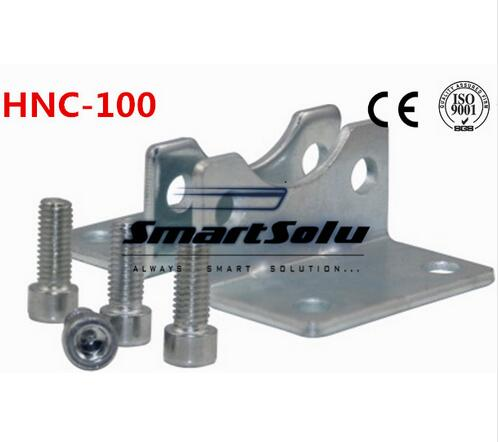 Free Shipping 5pcs/lots ISO6431 cylinder accessories HNC-100, the foot rack installation, DNC, SE, SI cylinder accessories morais r the hundred foot journey