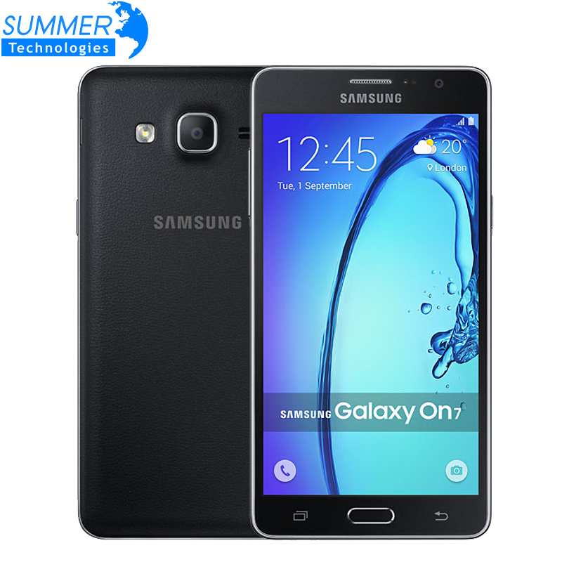 Original Unlocked Samsung Galaxy On7 G6000 4G LTE Quad Core Dual SIM MSM8916 5.5'' 13MP 1.5G RAM 8GB ROM 1280x720 Android Phone