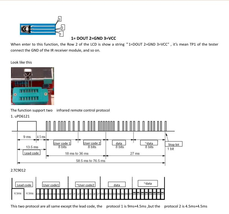 M168 Transistor Tester NPN//PNP Capacitance ESR Diode Triode mètre MOSFET R C L