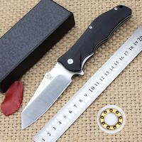 Latest Sales Tactical Survival Folding Knife G10 Handle 9 Cr18mov Steel Blade Outdoor Camping Hunting Knives