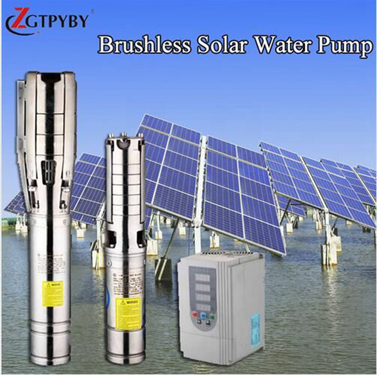 solar kit for agriculture irrigation exported to 58 countries dc solar powered submersible pump dc motor for hydraulic pump exported to 58 countries dc water pump reorder rate up to 80