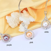 Real Natural Pearl Jewelry Pendants Necklaces, 10-11mm Freshwater Pearl Necklace Women Best Birthday Gift