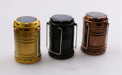 New Arrival 6 Led Disaster Prevention Artifact 5W Multifunctional Camping Solar Rechargeable Lantern XL-G85Z