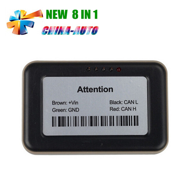 5pcs/lot DHL Free Adblue 8 in 1 Adblue Emulation 8in1 With NOx Sensor + High Quality 8in1 For 8 Type Trucks