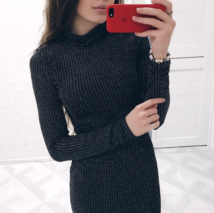 Алиэкспресс платье трикотажное